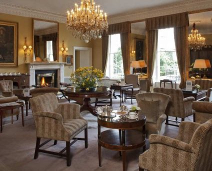 Drawing room at the Merrion Hotel Dublin