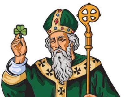 Saint Patrick is the Patron Saint of Ireland