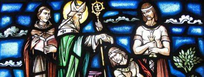 Saint Patrick preaching