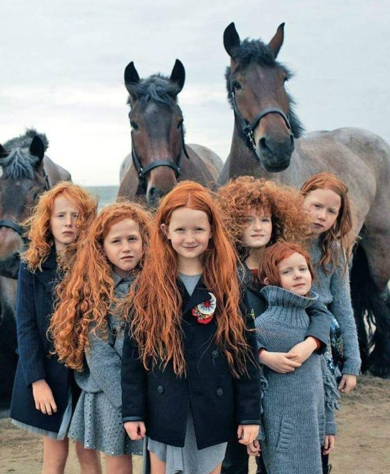 Why are there so many redheads in Ireland?
